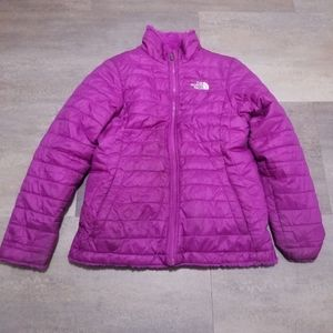 The North Face Girls Reversible Puffer Jacket LG